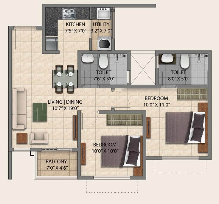 525 Sq Ft Apartment  Latest BestApartment 2018