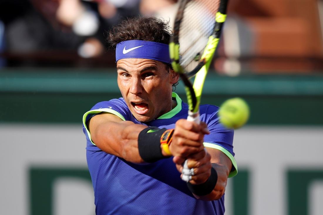 Nadal als een stoomtrein over Thiem naar finale op Roland Ga... - De Standaard