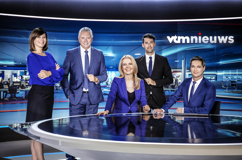 Hommeles bij VTM Nieuws - De Standaard