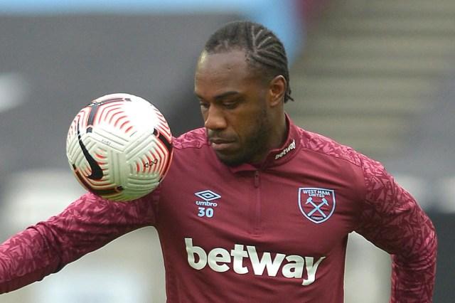 West Ham star Michail Antonio ruled out Manchester United clash through injury | Evening Standard