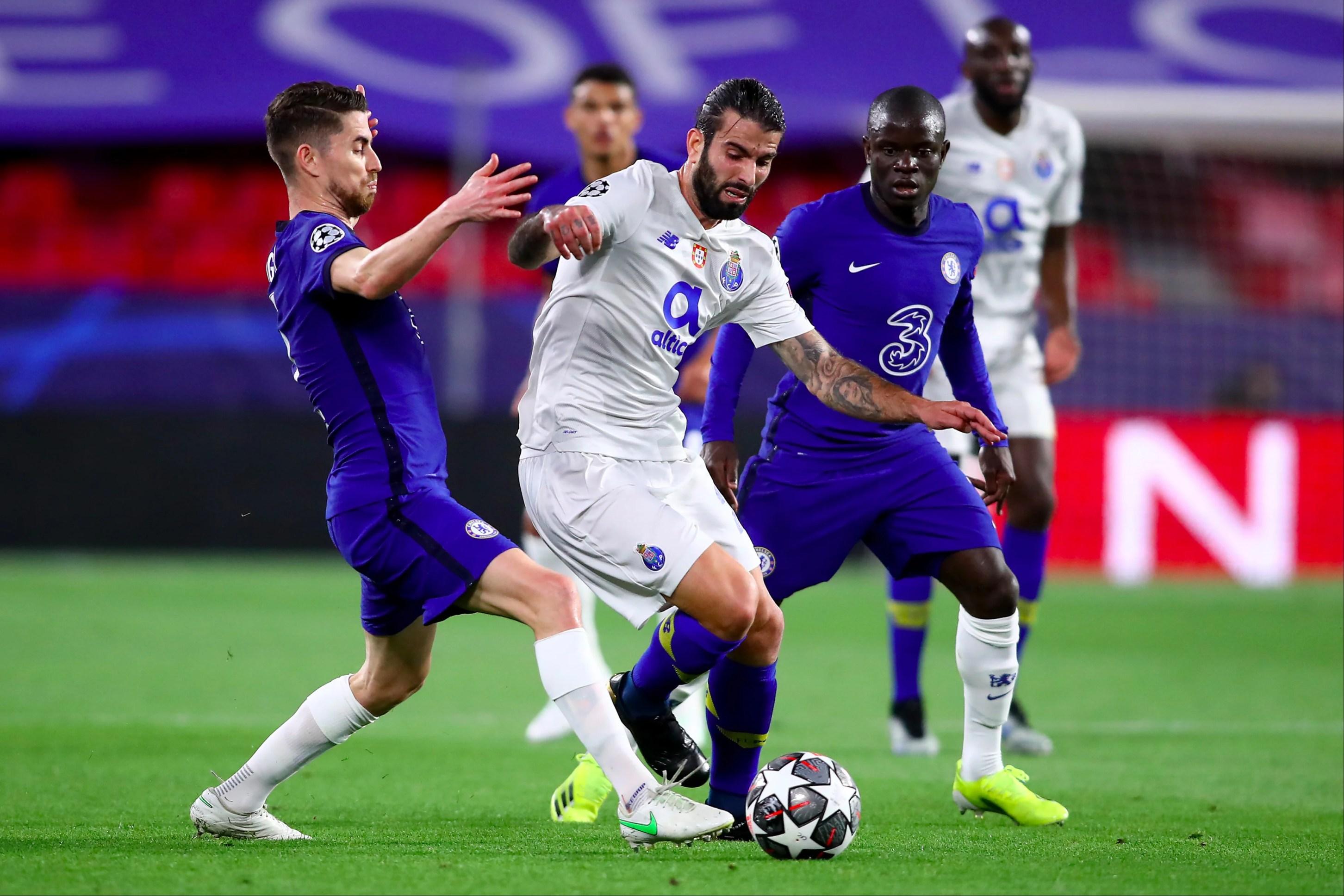 Chelsea FC player ratings vs Porto: N'Golo Kante and Jorginho impress on a quiet night for Mason Mount   Evening Standard