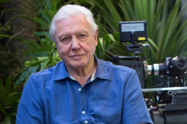 Sir Ranulph Fiennes As Sir David Attenborough Turns 90