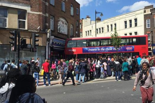 Harlesden bus crash