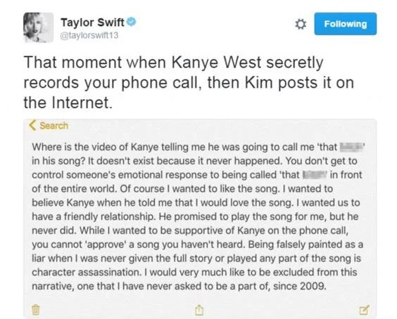 Image result for That moment when Kanye West secretly records your phone call, then Kim posts it on the Internet.
