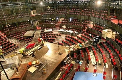 Roundhouse turned from rock venue to theatre in 10 days