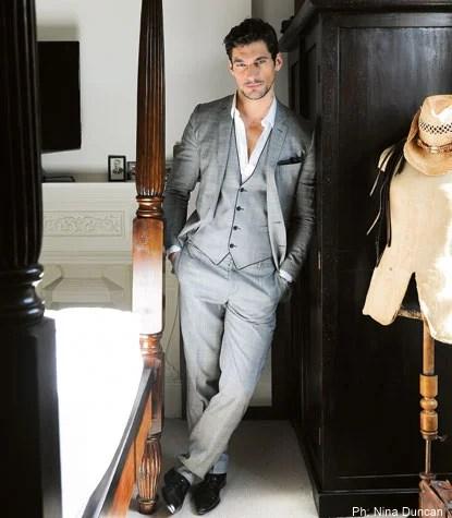 David Gandy  Britains top male model  London Evening