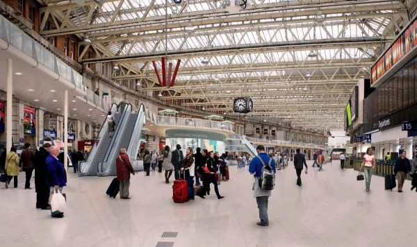Waterloo Station Turns Trendy Carluccio' Corney And