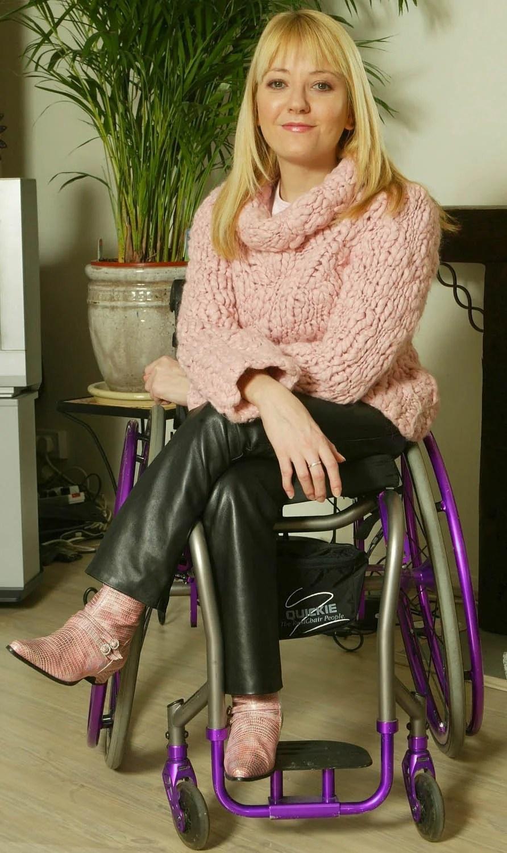 Jimmy Savile Disabled The Office star Julie Fernandez