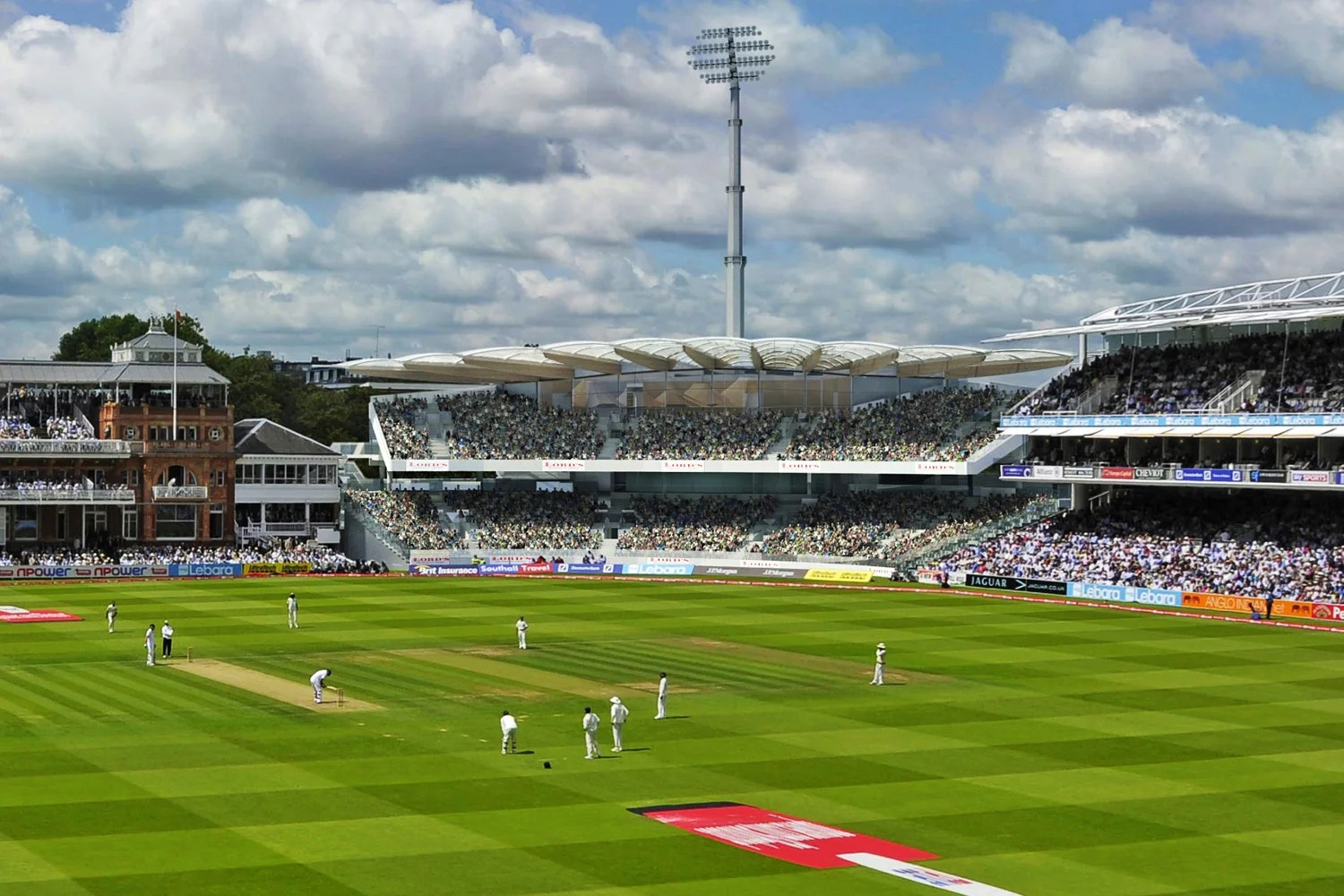 Good Afternoon 3d Wallpaper New 163 21m Lord S Cricket Ground Stand Designed By Olympic
