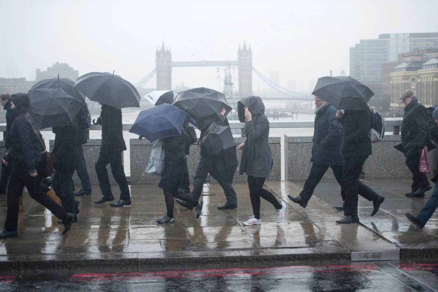 London Braced For More Winter Weather Misery Despite