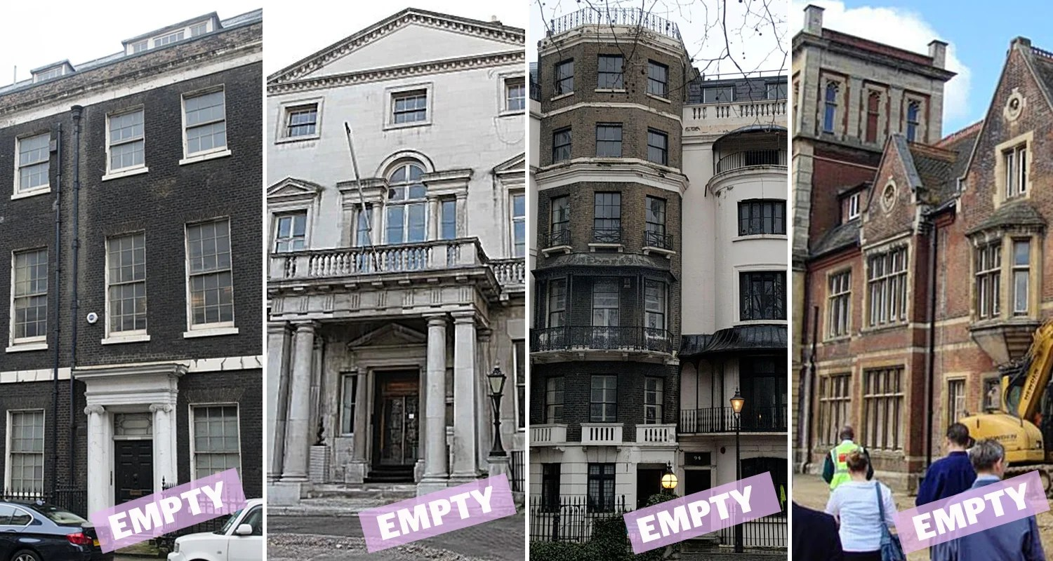 London S 3bn Ghost Mansions Foreign Investors Are Using Capital S Finest Homes As Real Life Monopoly Pieces London Evening Standard