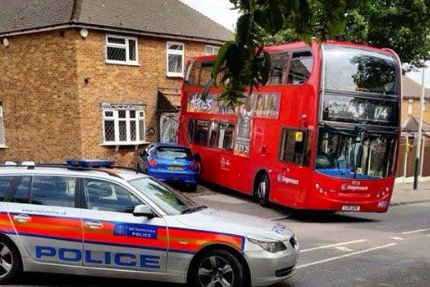 Wrecked by runaway bus inside the house destroyed by driverless doubledecker  London Evening