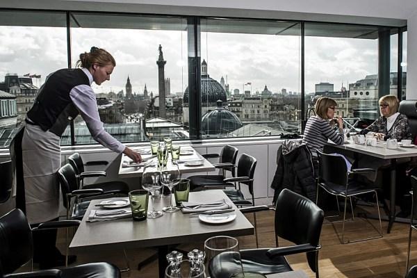 National Portrait Gallery Restaurant London
