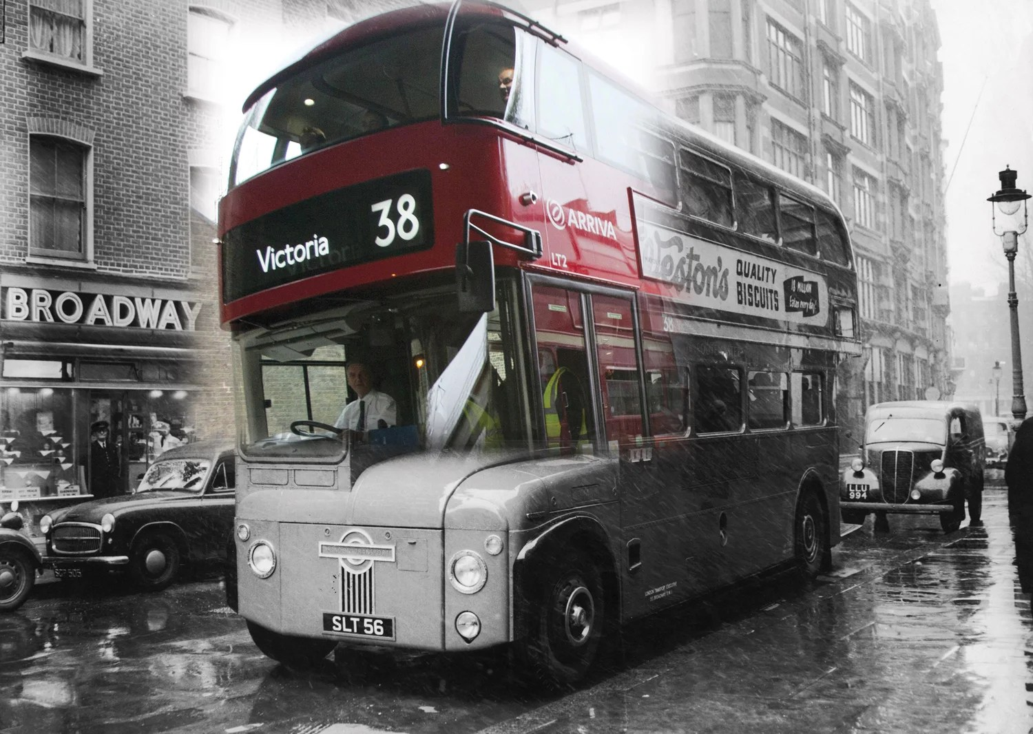 Past and present Historic London merges with modernday