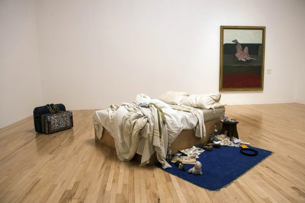 Tracey Emin' Bed Show Tate Britain 15