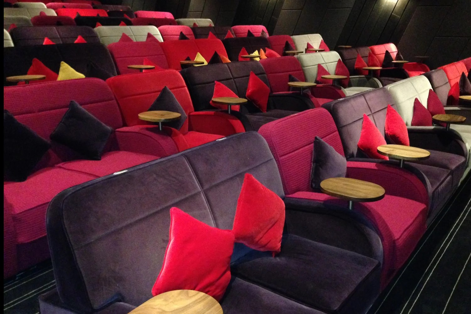 instyle sofas london road glasgow baxton studio selma leather modern sectional sofa everyman staging a cinema revival in crystal palace