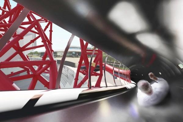 Olympic Sculpture Slide - 'world' Biggest