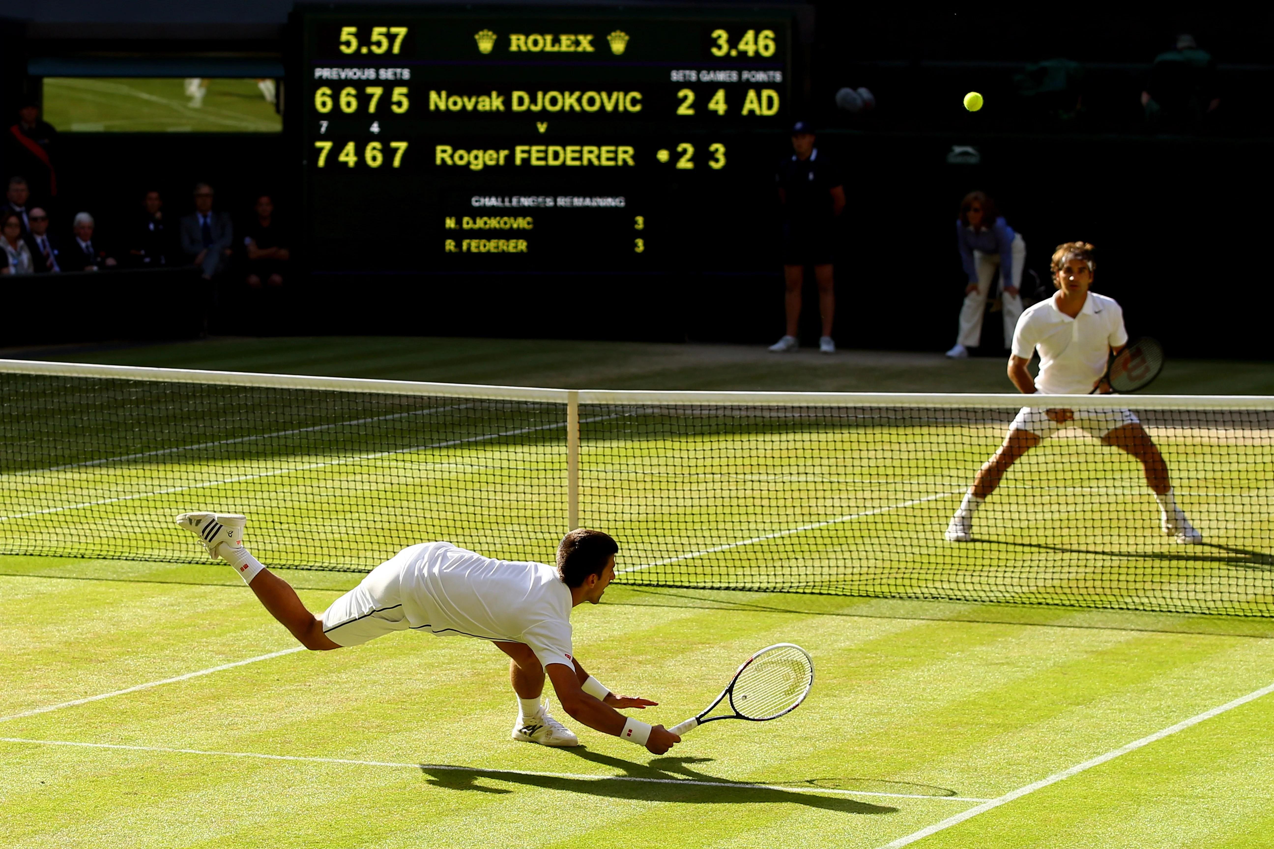 Novak Djokovic vs Roger Federer Live score and regular updates from Wimbledon 2015 mens final