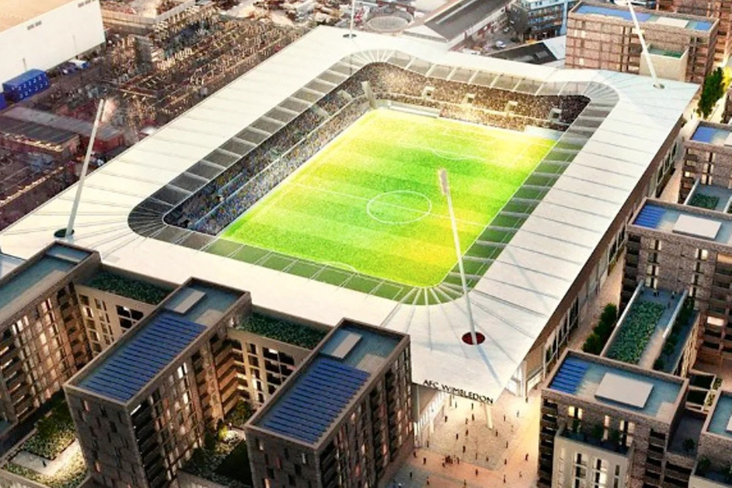 Chelseas 2m deal for Kingsmeadow moves Wimbledon a step