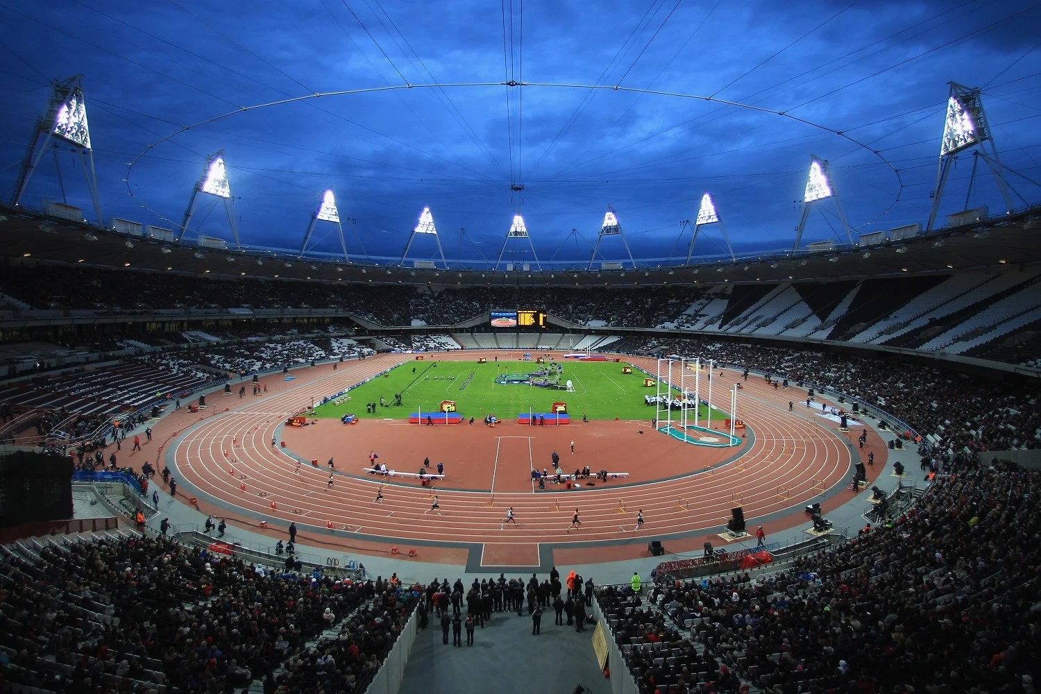 London 2012 Olympics running track goes on public sale for