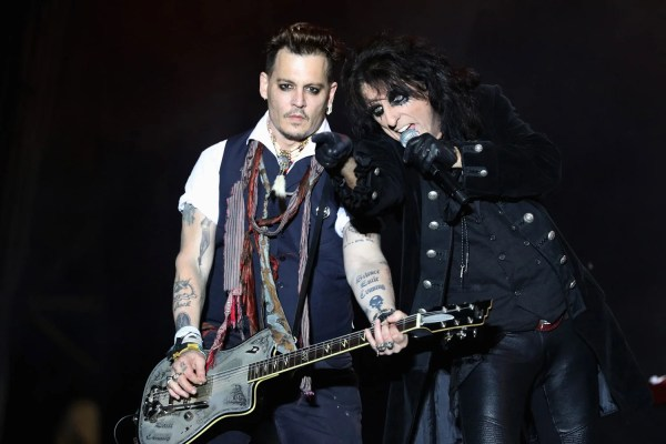 Johnny Depp Performs With Band Hollywood Vampires Calls Boycott Amber Heard