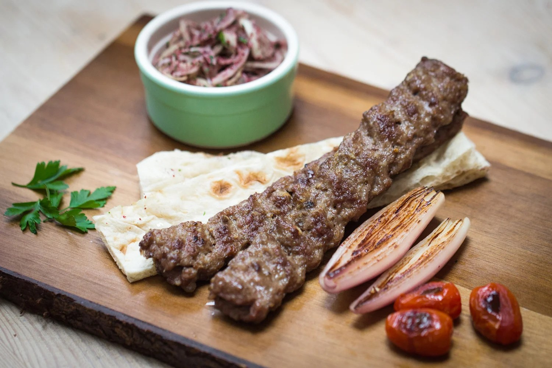 Iraqi lamb kebab a recipe from chef Philip Juma  London
