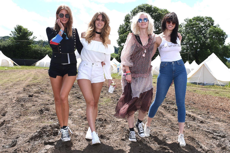 Glastonbury 2016 Ellie Goulding And Cara Delevingne Lead