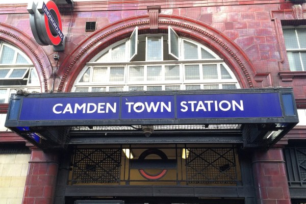 Camden Town Tube Station Man Assaulted And Hit
