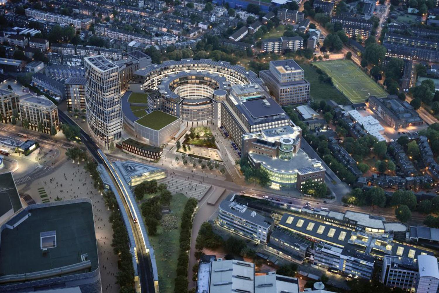 White City how Soho House the BBC and the London