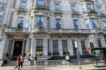 Raf Club Piccadilly Bid Axe Britain' Oldest