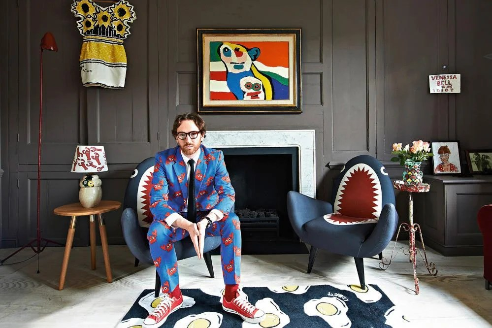 At home with pop artist Philip Colbert in Spitalfields