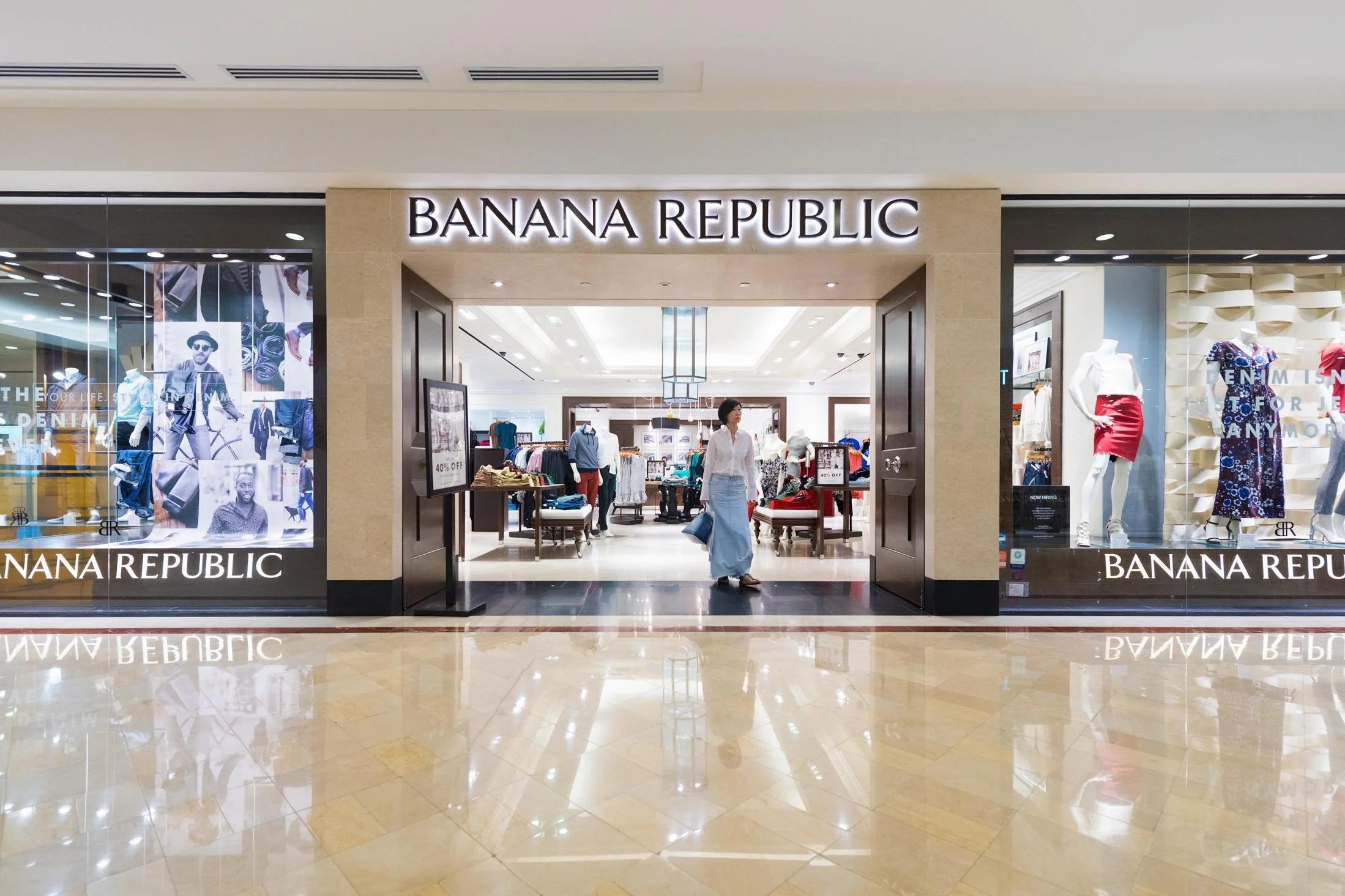 Banana Republic to close eight UK stores by end of