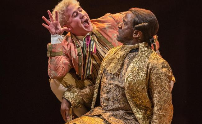 Amadeus Theatre Review A Soaring Song Of Genius And