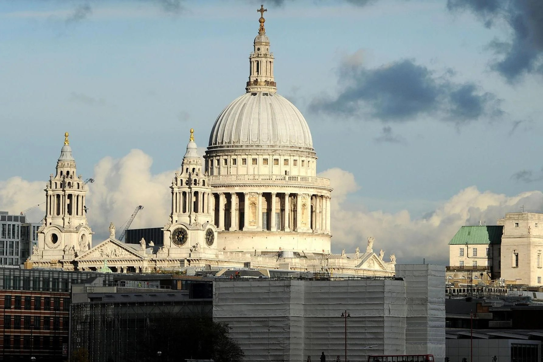 St Pauls Cathedral In Row With Developer Over Stratford