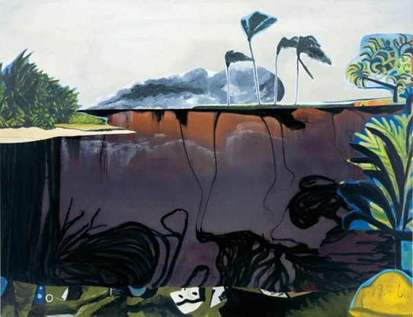 Bay Of Pigs Painting Highlight Saatchi Exhibition Days Fidel Castro'