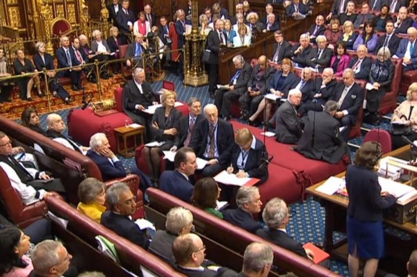 House of Lords Debate in the UK