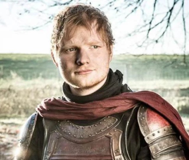 Quit Ed Sheeran Has Deleted His Twitter Account After His Cameo In Game Of Thrones