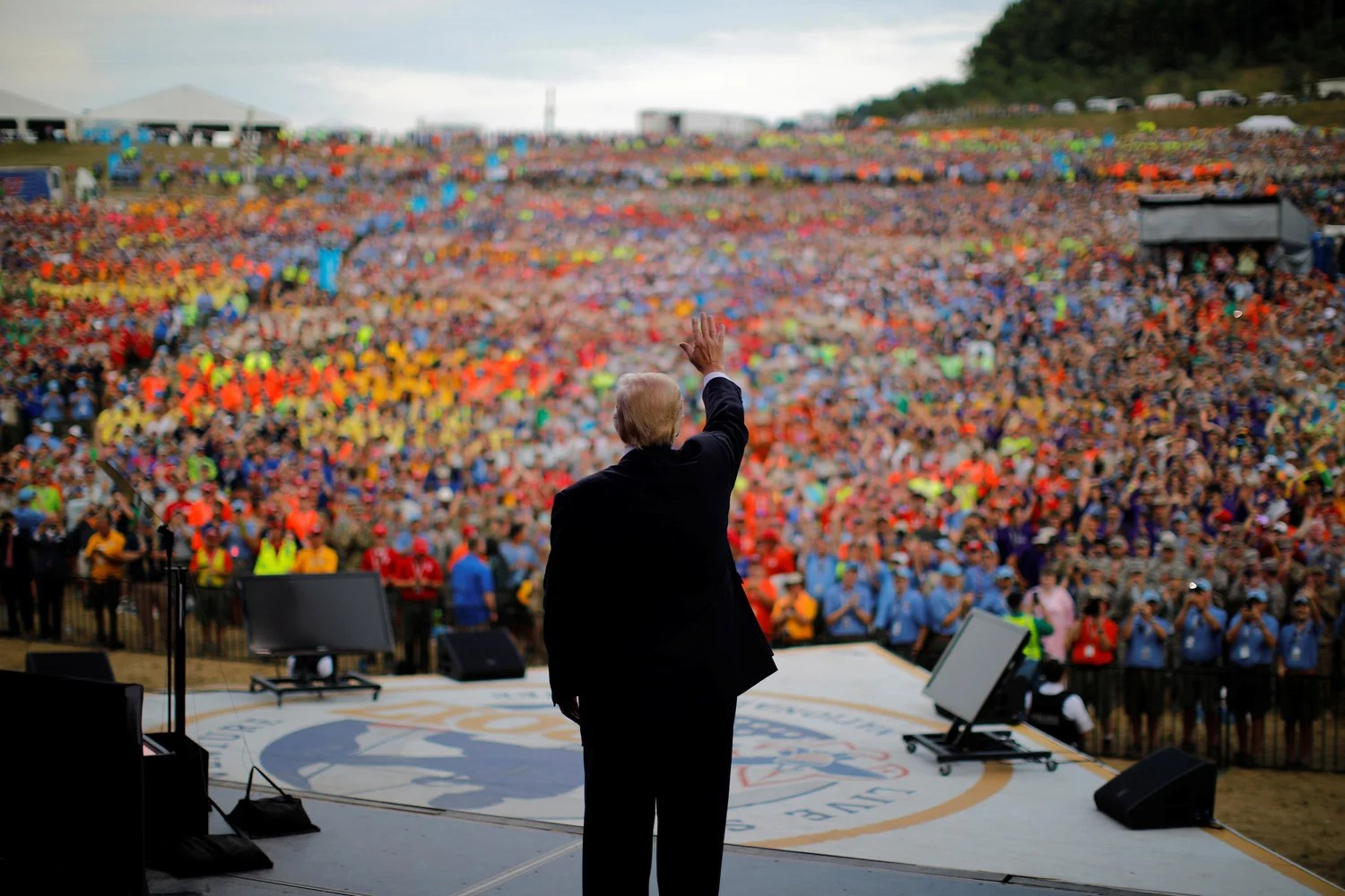 Scouts Forced To Deny Endorsement After Trump Hijacks