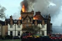 Cameron House Hotel Fire Two Dead Blaze Rips