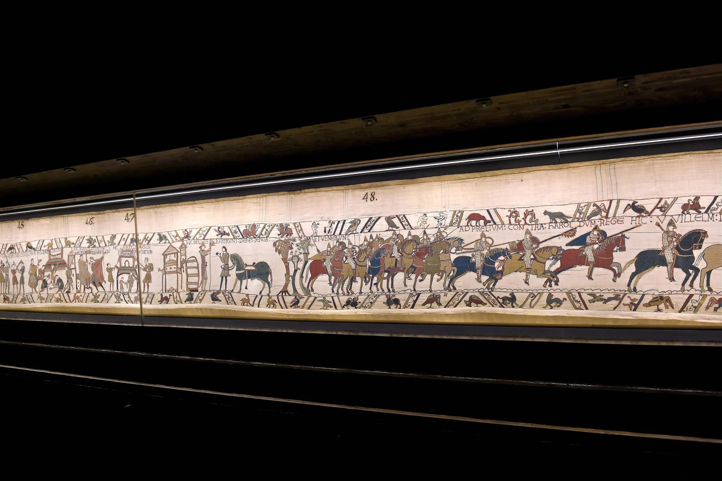 Teppich Von Bayeux Bayeux Tapestry Comes To The Uk The Main Contenders Hoping To