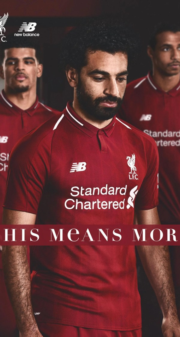 Image result for Liverpool kit 18/19