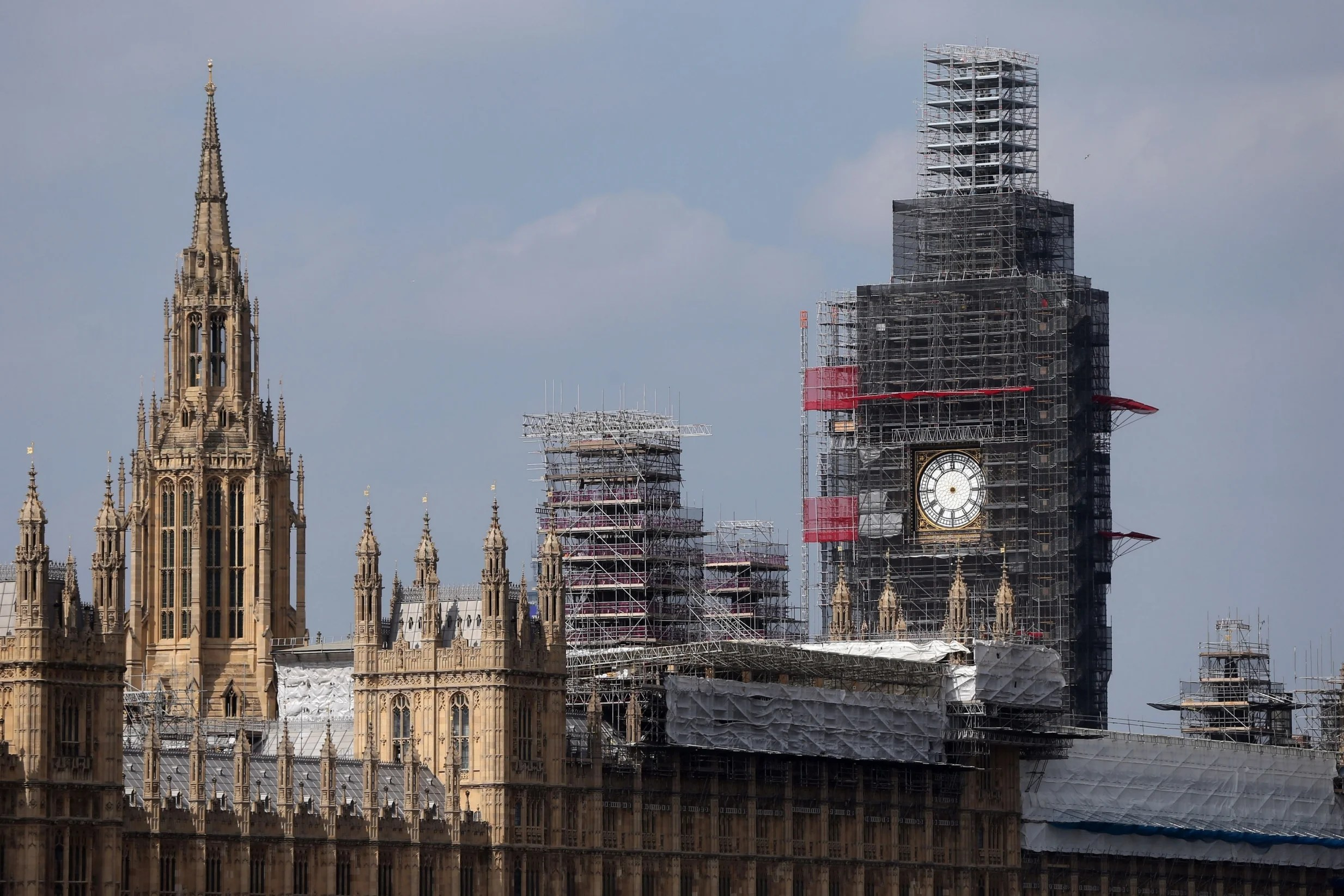 Man arrested after scaling Big Ben scaffolding in bid to break into Houses of Parliament