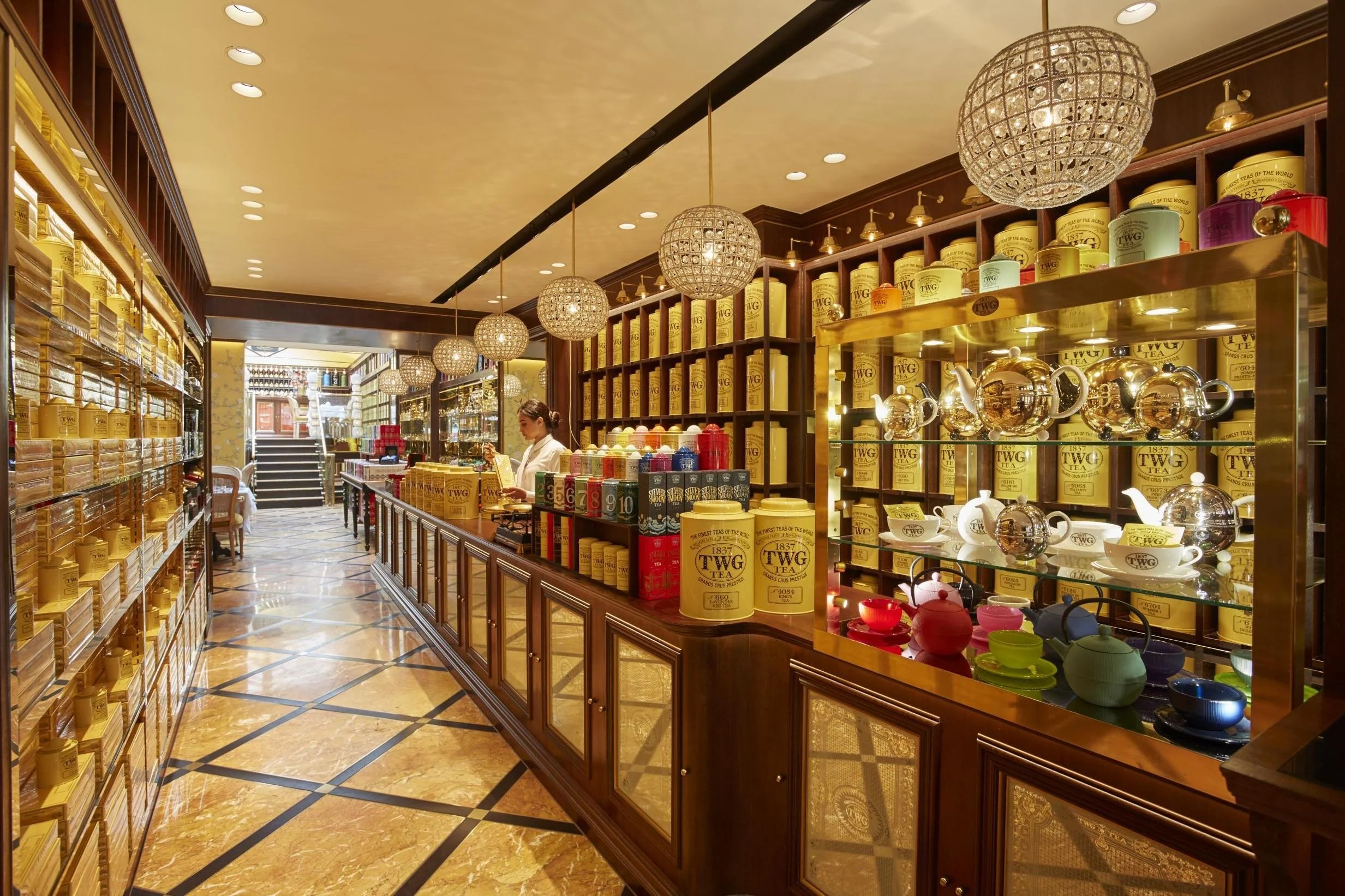 TWG Tea New Leicester Square boutique boasts more than 800 teas  London Evening Standard