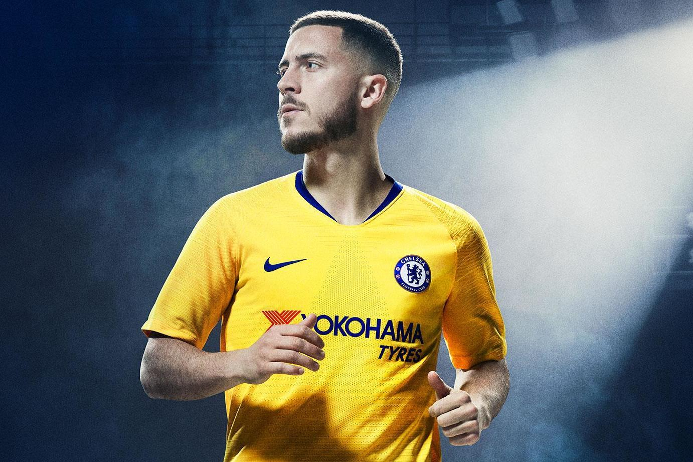 Hd Good Afternoon Wallpaper New Chelsea Away Kit 2018 19 Revealed Eden Hazard Models