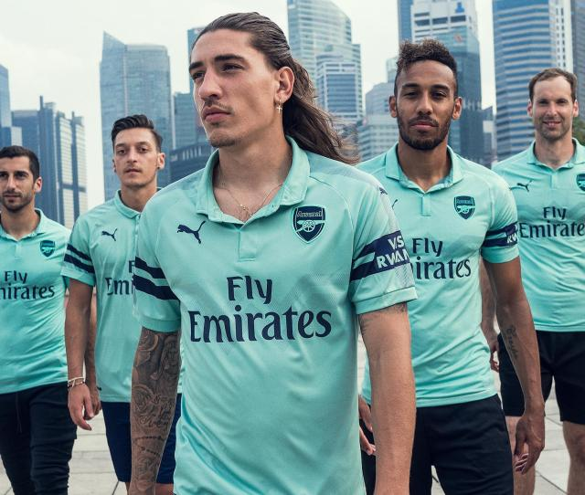 In Pictures New Arsenal Third Kit 2018 19