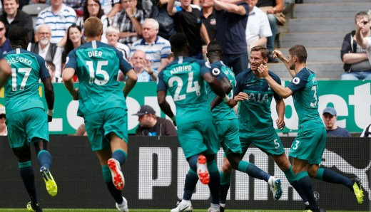 Image result for tottenham 2-1 newcastle