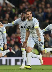 Manchester United 2 Derby County 2
