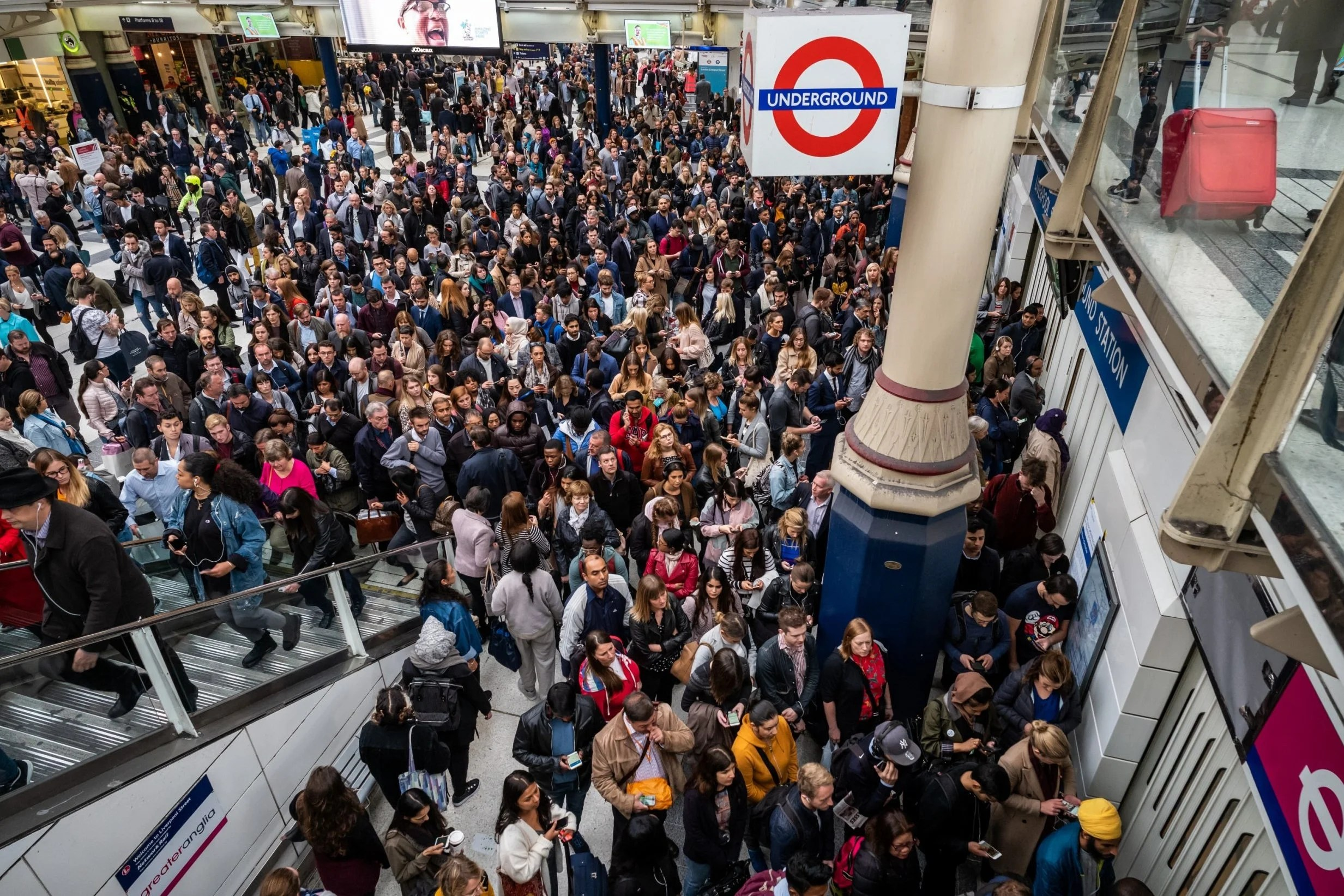 Central line strike TfL commuters face Tube chaos as