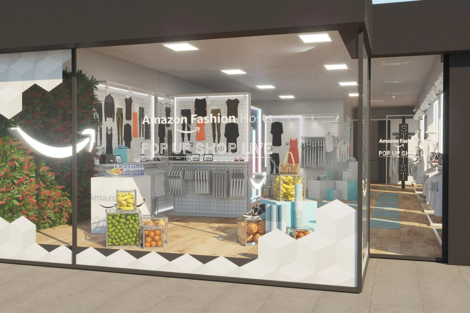 Amazon Fashion Are Opening A Pop Up Store On Baker Street