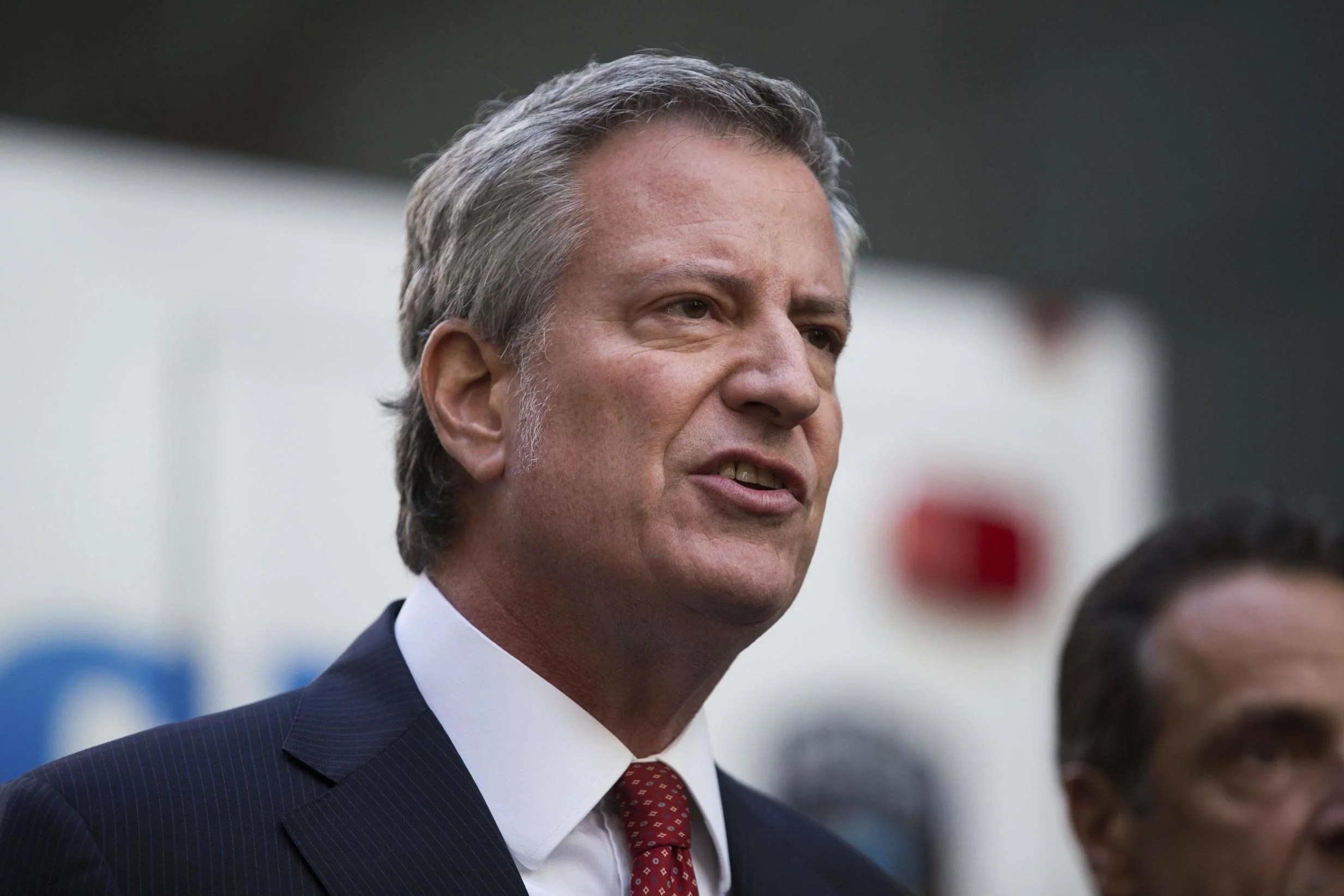 sei36638968 New York City mayor Bill de Blasio announces 2020 US presidential bid